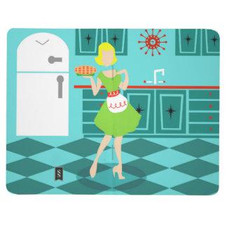 Retro Küchen-Taschen-Zeitschrift Taschennotizbuch