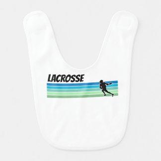 Retro Lacrosse Babylätzchen