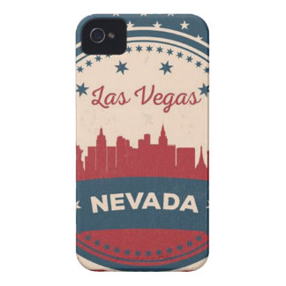 Retro Las Vegas-Skyline iPhone 4 Cover