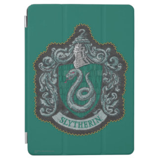 Retro mächtiges Slytherin Wappen Harry Potter | iPad Air Cover