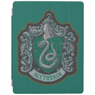 Retro mächtiges Slytherin Wappen Harry Potter | iPad Hülle