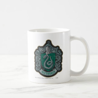 Retro mächtiges Slytherin Wappen Harry Potter | Kaffeetasse