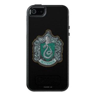 Retro mächtiges Slytherin Wappen Harry Potter   OtterBox iPhone 5/5s/SE Hülle