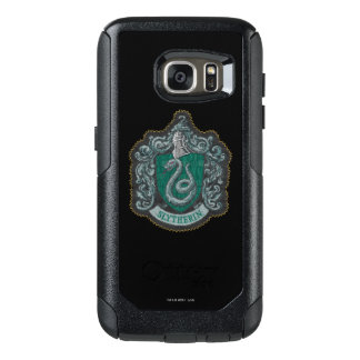Retro mächtiges Slytherin Wappen Harry Potter | OtterBox Samsung Galaxy S7 Hülle