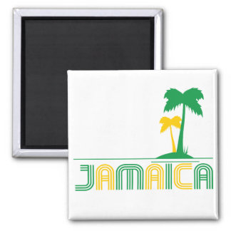 Retro Magnet Jamaikas