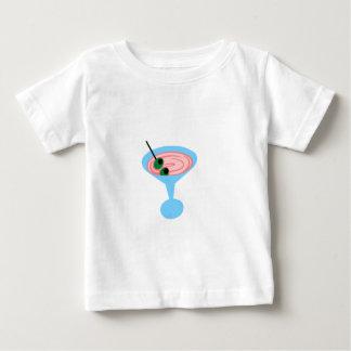 Retro Martini-Zeit Baby T-shirt