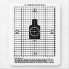 Retro Militärschießen-Ziel der waffen-M-16 Mousepad