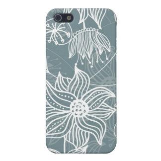Retro mit Blumenmuster iPhone 5 Cover