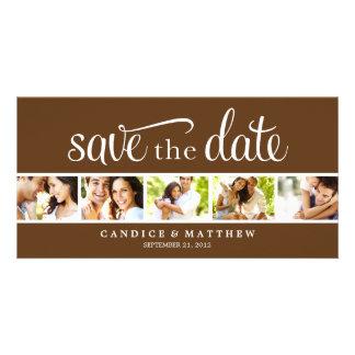 RETRO MITTEILUNG DER LIEBE-%PIPE% SAVE THE DATE PHOTOKARTENVORLAGEN