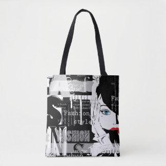 Retro Mode ganz vorbei - drucken Sie Tasche