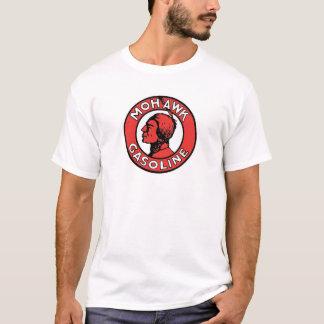 Retro Mohikaner-Benzin-Logo T-Shirt