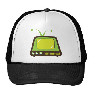 Retro Monsterantenne Fernsehen Trucker Cap