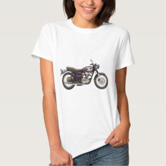 Retro Motorrad T-shirt