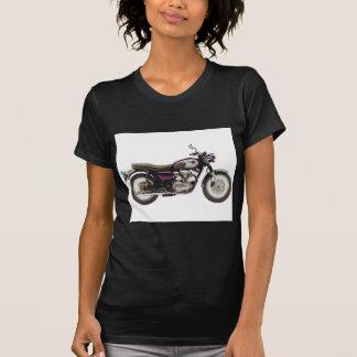 Retro Motorrad T Shirt
