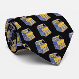Retro Musikautomat Individuelle Krawatten