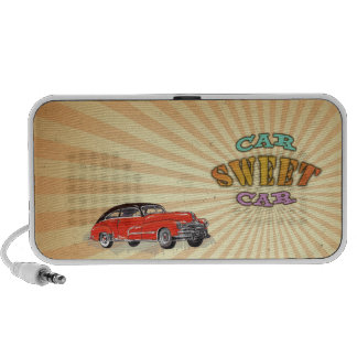 Retro Muskel-Auto-süßes Auto mit Vintagem Entwurf  Mp3 Lautsprecher