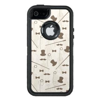 Retro Muster für Mann 2 OtterBox iPhone 5/5s/SE Hülle