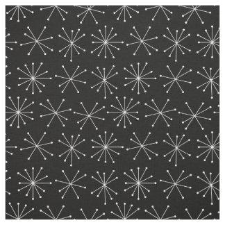 Retro Muster-Gewebe, Fünfzigerjahre Gewebe-Art Stoff