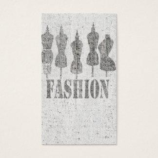 Retro niedliche Vintage Schneider-Kleiderform Visitenkarte