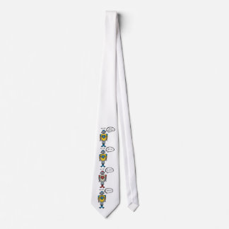 Retro niedlicher lustiger bedruckte krawatten