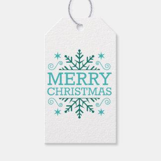 Retro nostalgische frohe Weihnachten Geschenkanhänger