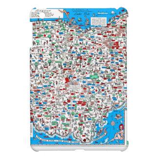 Retro Ohio-Karte 1966 iPad Mini Hüllen
