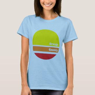 Retro orange Landkreis-T - Shirt