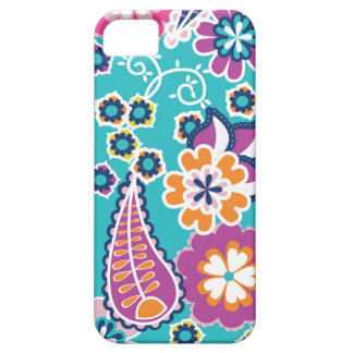 Retro Paisley iPhone Fall Barely There iPhone 5 Hülle