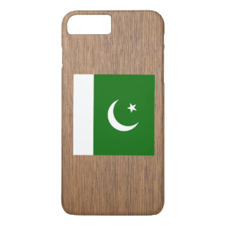Retro Pakistan-Flagge iPhone 8 Plus/7 Plus Hülle