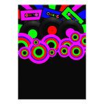 Retro Party-Entwurf Individuelle Ankündigungskarte