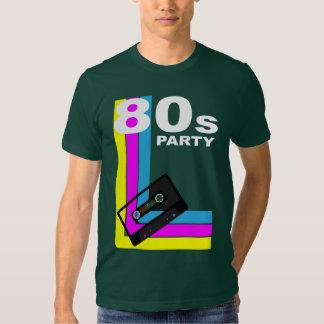 Retro Party-Hintergrund Hemd