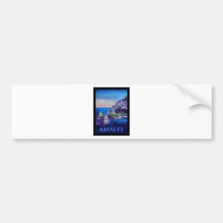 Retro Plakat-Amalfi-Küste Italien Autoaufkleber