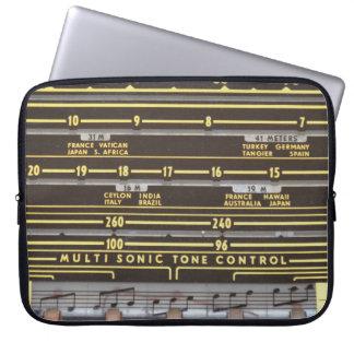 Retro Radio Laptop Sleeve