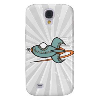 Retro Rakete Galaxy S4 Hülle