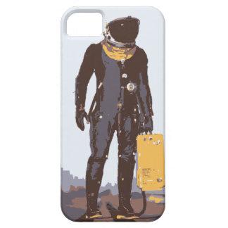 Retro Raumfahrer iPhone 5 Etuis