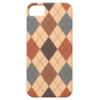 Retro Rauten-Trendy Erdton-Eleganz iPhone 5 Case