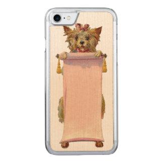 RETRO REBELLENhundiPhone 5/5S nehmen Holz ab Carved iPhone 8/7 Hülle
