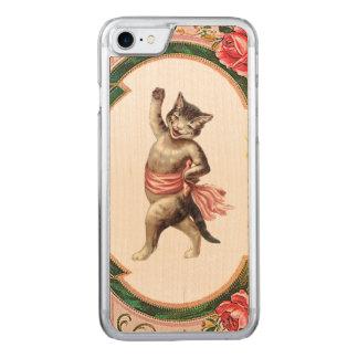 RETRO REBELLENMiezekatze-Kabarett iPhone 5/5S Carved iPhone 8/7 Hülle