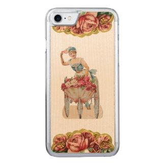 RETRO REBELLENRosen-Verkäufer iPhone 5/5S nehmen Carved iPhone 7 Hülle