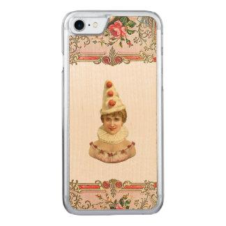 RETRO REBELLISCHES hübsches Pierrot Frau iPhone Carved iPhone 7 Hülle