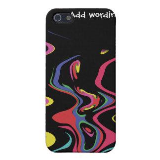 Retro Regenbogeneleganz iPhone 5 Schutzhülle