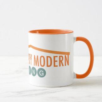 Retro reizende Tasse der Orangen-I!