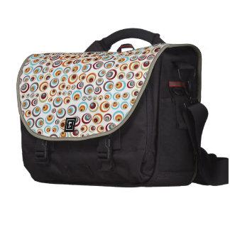 Retro Ringe Laptop Taschen