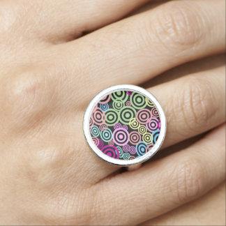Retro rings foto ring