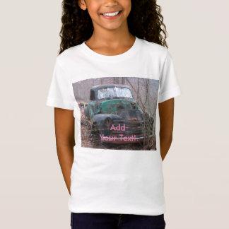 Retro rostiges Chrom-Tier T-Shirt