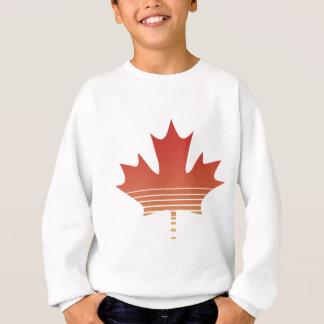 Retro Rotahorn-Blatt Sweatshirt