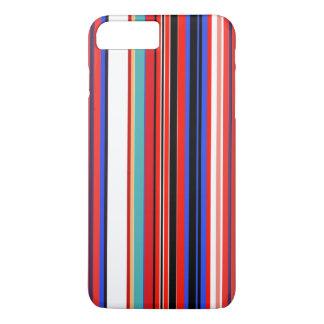 Retro rote Streifen iPhone 8 Plus/7 Plus Hülle
