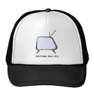 Retro Rulez Fernsehen Trucker Mütze