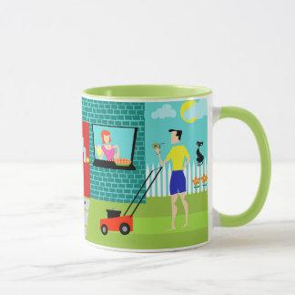 Retro Samstag Morgen Tasse