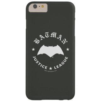 Retro Schläger-Emblem der Gerechtigkeits-Liga-| Barely There iPhone 6 Plus Hülle